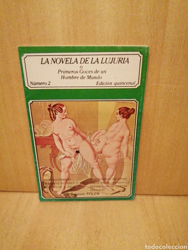 LA NOVELA DE LA LUJURIA. PRIMEROS GOCES DE UN HOMBRE DE MUNDO. NÚMERO 2. EDICIONES POLEN. (Libros de Segunda Mano (posteriores a 1936) - Literatura - Narrativa - Erótica)