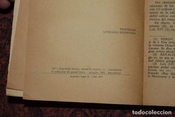 Libros de segunda mano: Libro El Satiricón de Petronio Ediciones Rodegar 1971 - Foto 2 - 218406385