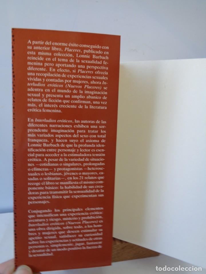 Libros de segunda mano: ¡¡ EROTISMO: EL PLACER DE AMAR Y INTERLUDIOS EROTICOS. !! - Foto 4 - 221768548