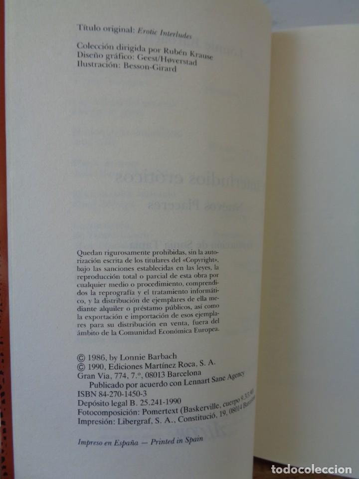 Libros de segunda mano: ¡¡ EROTISMO: EL PLACER DE AMAR Y INTERLUDIOS EROTICOS. !! - Foto 6 - 221768548