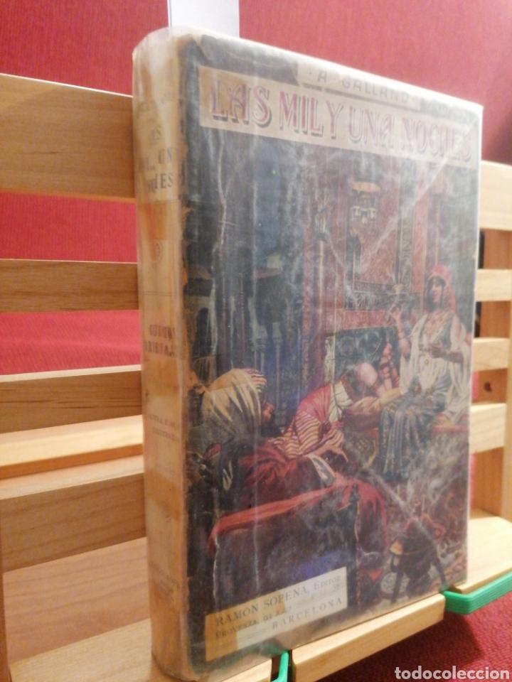 Libros de segunda mano: Las mil y una noches. A. Galland. Cuentos orientales Ramon Sopena, Ed. Barcelona, S/A. (Ca.1940) - Foto 2 - 224493695