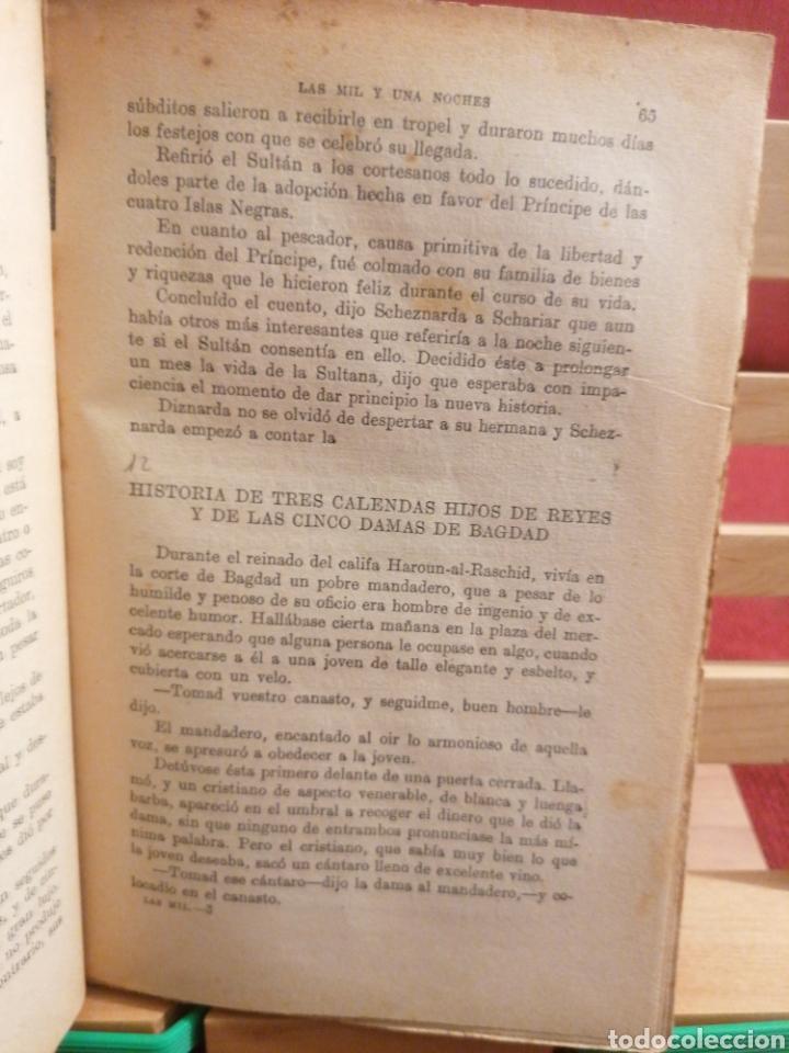 Libros de segunda mano: Las mil y una noches. A. Galland. Cuentos orientales Ramon Sopena, Ed. Barcelona, S/A. (Ca.1940) - Foto 5 - 224493695