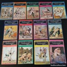 Libros de segunda mano: EL CABALLERO Y LA DONCELLA. COMPRENDE DE LOS VOLÚMENES 1 AL 13: OBRA COMPLETA. EDICIONES POLEN 1978. Lote 226081725