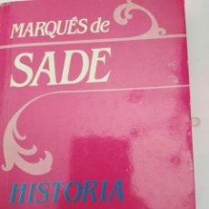 Libros de segunda mano: HISTORIA DE SAINVILLE Y DE LEONORE .SADE. Lote 226496830