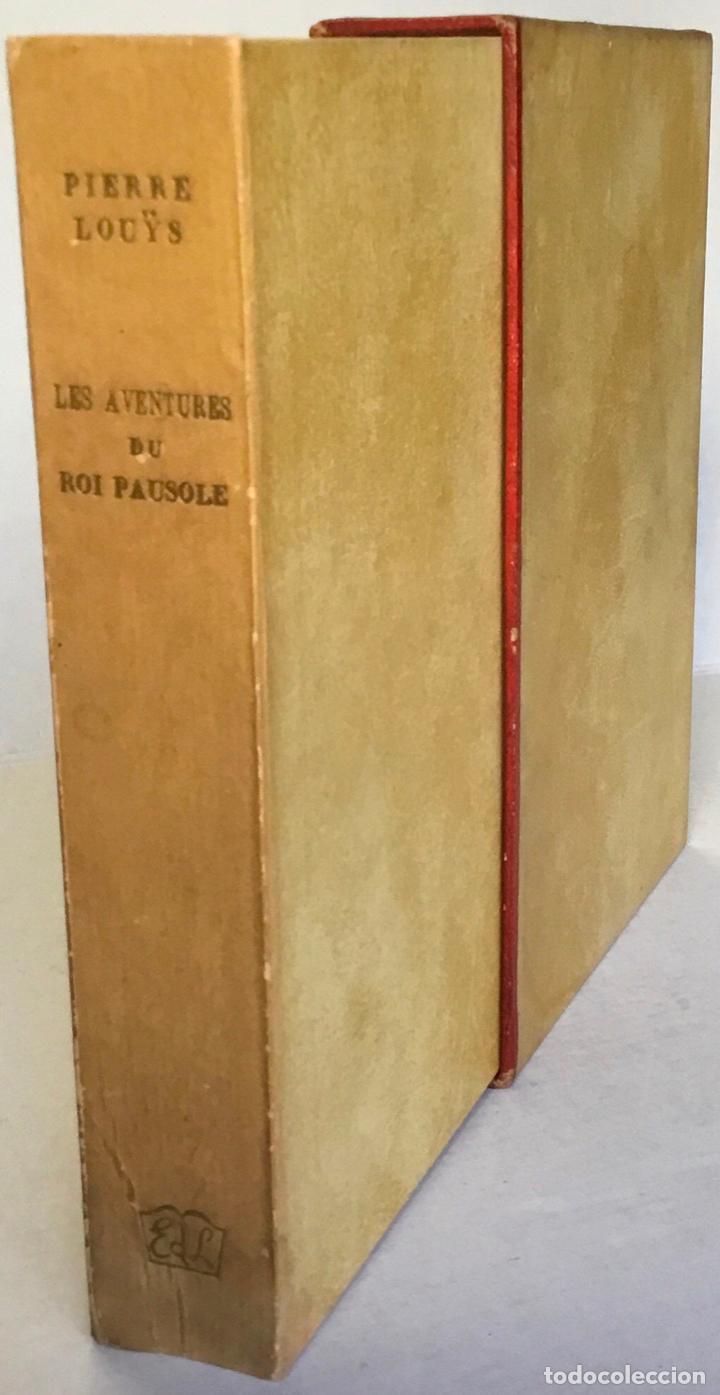 Libros de segunda mano: LES AVENTURES DU ROI PAUSOLE. - LOUYS, Pierre. - Foto 2 - 233095330