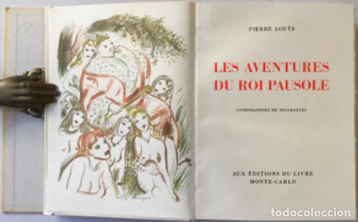 Libros de segunda mano: LES AVENTURES DU ROI PAUSOLE. - LOUYS, Pierre. - Foto 3 - 233095330