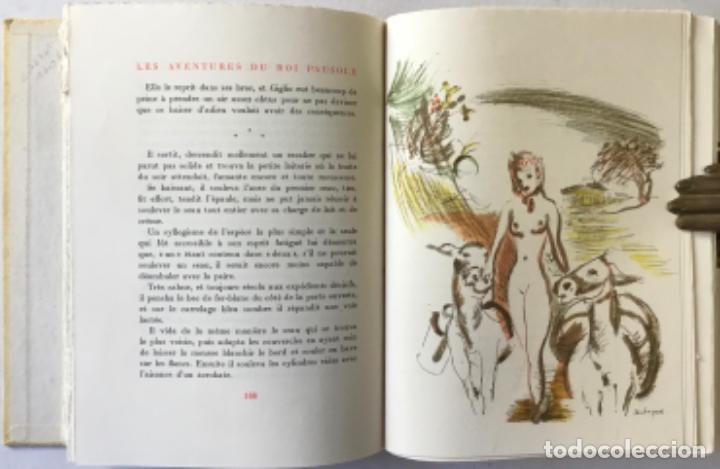 Libros de segunda mano: LES AVENTURES DU ROI PAUSOLE. - LOUYS, Pierre. - Foto 6 - 233095330
