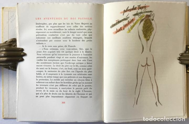 Libros de segunda mano: LES AVENTURES DU ROI PAUSOLE. - LOUYS, Pierre. - Foto 8 - 233095330