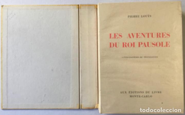 LES AVENTURES DU ROI PAUSOLE. - LOUYS, PIERRE. (Libros de Segunda Mano (posteriores a 1936) - Literatura - Narrativa - Erótica)