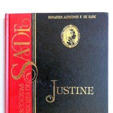 Libros de segunda mano: JUSTINE O LAS DESVENTURAS DE LA VIRTUD. MARQUES DE SADE.. Lote 235230565