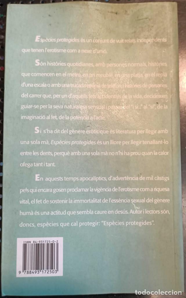 Libros de segunda mano: LIBRO ESPÈCIES PROTEGIDES, Eduard Company, 2000, MUY RARO DE CONSEGUIR - Foto 3 - 236074815