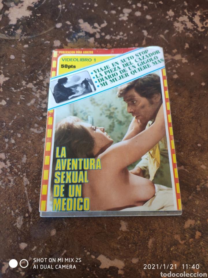 VIDEOLIBRO 1: LA AVENTURA SEXUAL DE UN MÉDICO (Libros de Segunda Mano (posteriores a 1936) - Literatura - Narrativa - Erótica)