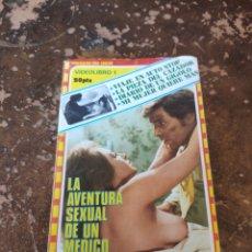 Libros de segunda mano: VIDEOLIBRO 1: LA AVENTURA SEXUAL DE UN MÉDICO. Lote 236320835