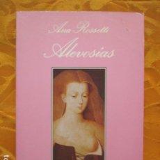 Libros de segunda mano: LA SONRISA VERTICAL N.º 71. ALEVOSÍAS - ANA ROSSETTI - TUSQUETS. Lote 236471375