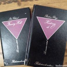Libros de segunda mano: DOS LIBROS DE LA COLECCIÓN LA SONRISA VERTICAL, POR 5€. Lote 237404455