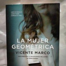 Livres d'occasion: VICENTE MARCO LA MUJER GEOMÉTRICA ALMUZARA. Lote 240121015