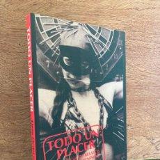 Livros em segunda mão: TODO UN PLACER. ANTOLOGIA DE RELATOS EROTICOS FEMENINOS - EDITORIAL BERENICE. Lote 242279110
