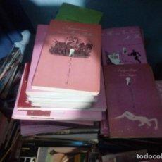 Libros de segunda mano: LOTE DE 20 LIBROS LA SONRISA VERTICAL DE LITERATURA ERÓTICA. OCASIÓN. Lote 243645300