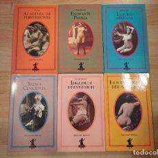 Libri di seconda mano: 'LOTE 6 LIBROS SELECCIONES ERÓTICAS DE SILENO'. Lote 248682325