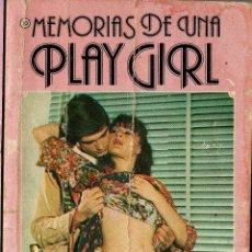 Libros de segunda mano: MEMORIAS DE UNA PLAY GIRL 10: SEXO DESAFORADO (SEXY NOVEL). Lote 255463525