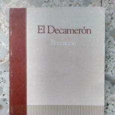 Libros de segunda mano: EL DECAMERÓN - BOCCACCIO - ANTOLOGÍA - MARÍA ESTHER BENÍTEZ - BIBLIOTECA BÁSICA SALVAT, 45 - 1985. Lote 261781685
