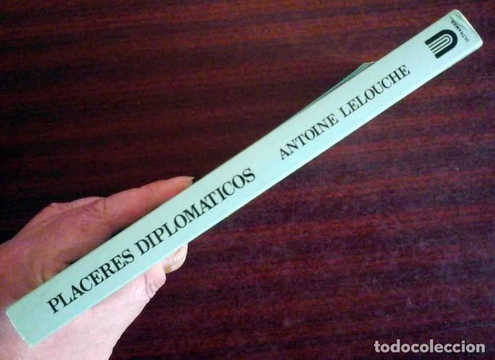 Libros de segunda mano: Placeres diplomáticos (Antoine Lelouche) Venus Ultramar 1990 - Foto 3 - 261879805