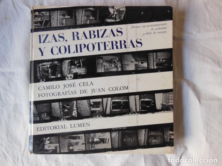IZAS, RABIZAS Y COLIPOTERRAS. 1964 CAMILO JOSE CELA (Libros de Segunda Mano (posteriores a 1936) - Literatura - Narrativa - Erótica)