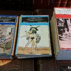 Libros de segunda mano: 1978 - LA PERLA. COLECCIÓN DE LECTURAS SICALÍPTICAS - 18 TOMOS, COMPLETA + LA NUEVA PERLA 12 TOMOS. Lote 265471779
