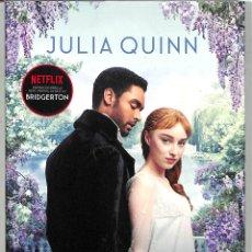 Libros de segunda mano: EL DUQUE Y YO (BRIDGERTON 1) - JULIA QUINN - TITANIA - TITANIA ÉPOCA, 43. Lote 268021549