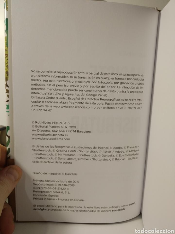 Libros de segunda mano: Naciste para disfrutar Sexualidad espiritualidad y relaciones conscientes Rut Nieves Libro nuevo - Foto 7 - 198137976