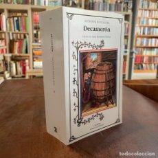 Libros de segunda mano: DECAMERÓN - GIOVANNI BOCCACCIO. Lote 268284254