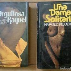 Libros de segunda mano: DOS NOVELAS ERÓTICAS. Lote 268848994