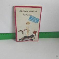 Libros de segunda mano: RELATOS ERÓTICOS ITALIANOS ~ VV.AA | ED.TRES,CATORCE,DIECISIETE ~ INFIERNO ESCRITO CUERPO Nº 2(1977). Lote 269133223