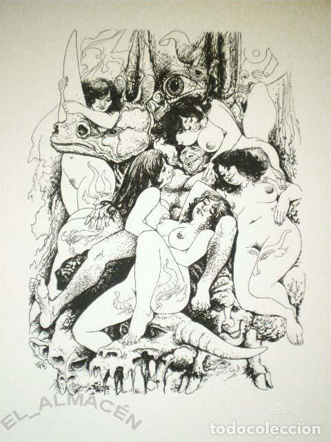 Libros de segunda mano: EL JARDÍN DE VENUS (SAMANIEGO + LORENZO GOÑI ) EDICIÓN LUJO HELIODORO 1977. ED. NUMERADA. SIN USAR - Foto 4 - 270883838