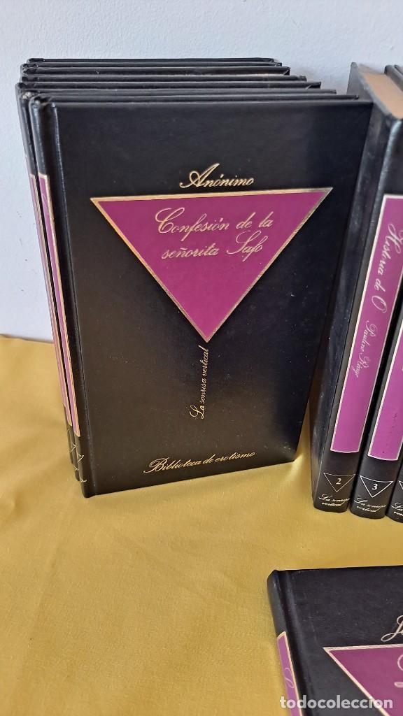 Libros de segunda mano: LUIS G. BERLANGA - BIBLIOTECA DE EROTISMO (47 LIBROS) - LA SONRISA VERTICAL 1984 - Foto 2 - 275725053