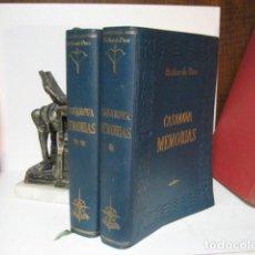 Libros de segunda mano: CASANOVA MEMORIAS - EDAF - EL ARCO DE EROS - 1962 - DOS TOMOS - MUY ILUSTRADOS. Lote 277289023