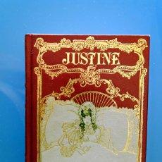 Libros de segunda mano: JUSTINE. MARQUES DE SADE. CLUB INTERNACIONAL DEL LIBRO. ENCUADERNACIÓN DE LUJO. Lote 277538463