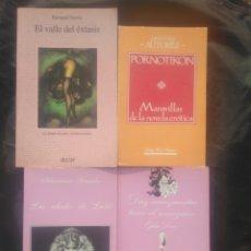 Libros de segunda mano: NOVELA ERÓTICA. 4 LIBROS.. Lote 278485928