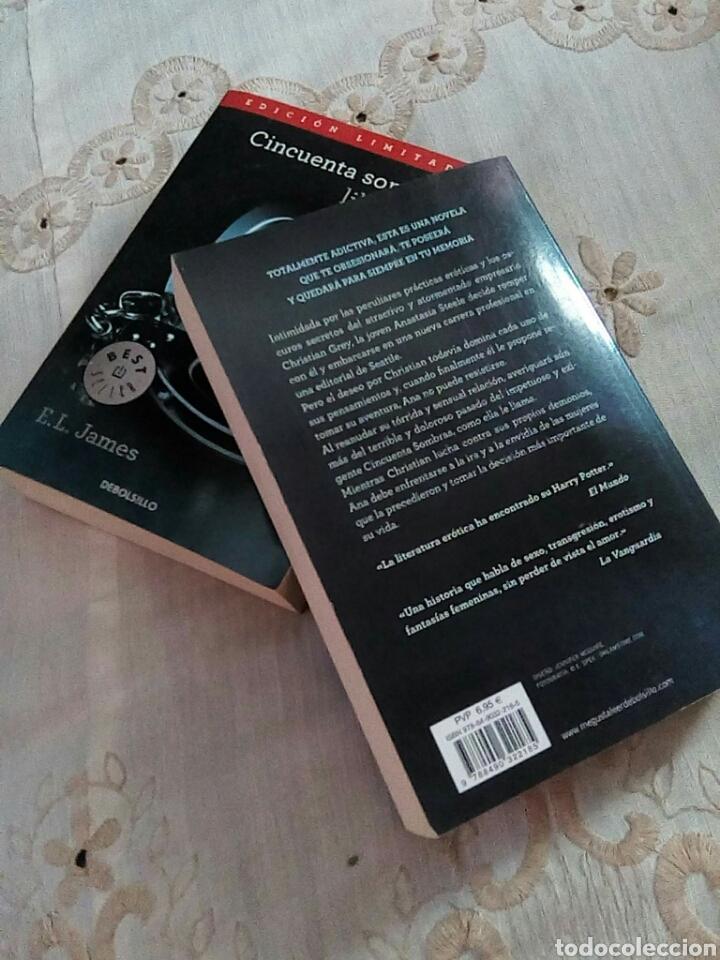 Libros de segunda mano: Cincuentas sombras - Foto 4 - 284203948