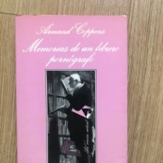 Livros em segunda mão: MEMORIAS DE LIBRERO PORNOGRÁFICO ARMAND COPPENS EROTICA LA SONRISA VERTICAL 1ª EDICIÓN 1991 BERLANGA. Lote 286160303