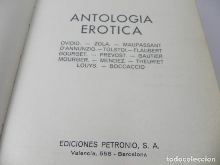 Libros de segunda mano: POEMAS EROTICOS (AL INSTANTE DE LA DICHA) DECAMERON - PETRONIO-1972 - Foto 3 - 287845113