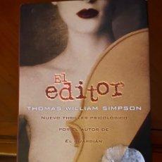 Libros de segunda mano: EL EDITOR. Lote 296894663