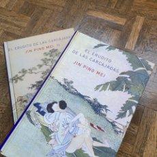 Libros de segunda mano: EL ERUDITO DE LAS CARCAJADAS 2 VOL. - JIN PING MEI - ATALANTA (2010) ENVÍO GRATIS. Lote 296907388