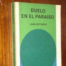 Libros de segunda mano: DUELO EN EL PARAÍSO POR JUAN GOYTISOLO DE ED. SALVAT EN NAVARRA 1971. Lote 13567997