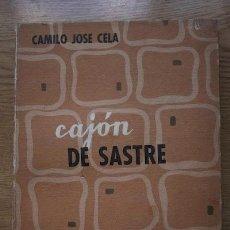 Libros de segunda mano: CAJÓN DE SASTRE. CELA (CAMILO JOSÉ). Lote 20241501