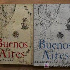 Libros de segunda mano: BUENOS AIRES. REVISTA DE HUMANIDADES. NÚMEROS 1 (SEPTIEMBRE 1961) Y 2 (JULIO 1962).. Lote 25447106