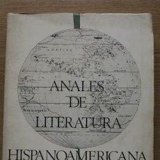 Gebrauchte Bücher - Anales de Literatura Hispanoamericana. - 17033755