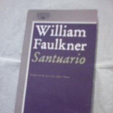 Libros de segunda mano: SANTUARIO DE WILLIAM FAULKNER. Lote 19521750