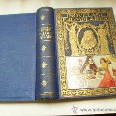 Libros de segunda mano: MIGUEL DE CERVANTES NOVELAS EJEMPLARES EDITORIAL RAMON SOPENA BARCELONA 1941 EDICION ILUSTRADA. Lote 17199151