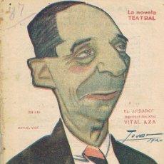 Libros de segunda mano: LA NOVELA TEATRAL, EL AFINADOR, JUGUETE EN DOS ACTOS, Nº 87. Lote 17572899